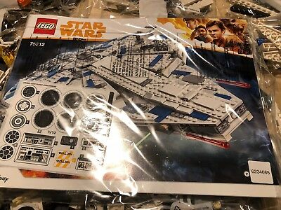 LEGO 75212 Star Wars Kessel Run Millennium Falcon Brand New ***NO BOX***