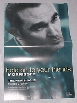 Hold On To Your Friends Morrissey UK poster promo 20 x 13 PARLOPHONE 1994
