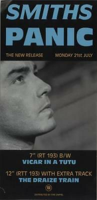 Smiths poster Panic UK promo POSTER ROUGH TRADE 1986