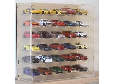 1/64 Présentoir vitrine Display case 30 cars voitures models TRIPLE 9 plexiglas