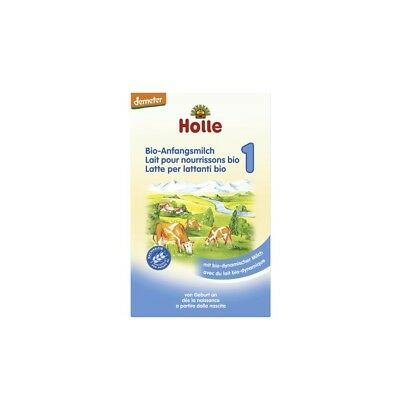 Holle Stage 1 Organic Infant Milk Formula 400g - 6 Pack