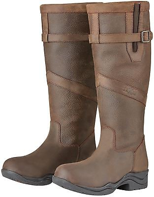 6257cd94118 BAKER LADIES LEXINGTON Waterproof Tall Country Boots Leather with ...