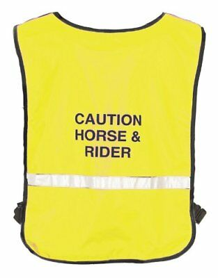 Roma Reflective Safety Riding Vest for Horse Riding on Roads or at Night