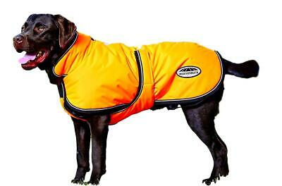 Weatherbeeta Reflective Parka 300D Deluxe Lite Dog Coat with Harness Hole
