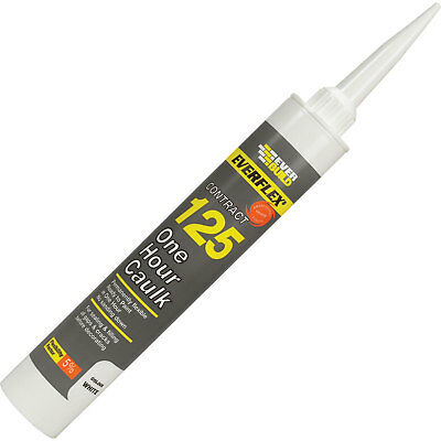 Everbuild One Hour Decorators Caulk Magnolia 310ml
