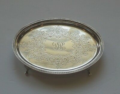 Kirk Sterling Silver Teapot Stand #63, 202 grams