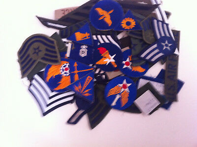 +usaf patches mixed lot of 40