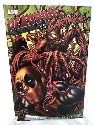 Deadpool vs Carnage Collects #1 2 3 4 &More Marvel TPB Trade Paperback Brand New