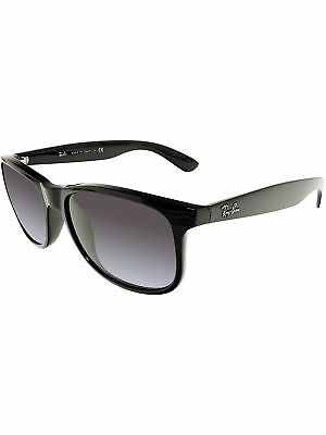 3c96b96b85 Ray-Ban Men s Gradient Andy RB4202-601 8G-55 Black Wayfarer Sunglasses