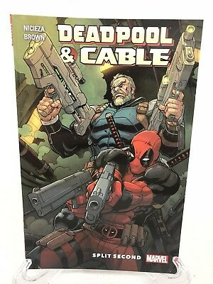 Deadpool & Cable Split Second Collects #1-3 Marvel TPB Trade Paperback Brand New