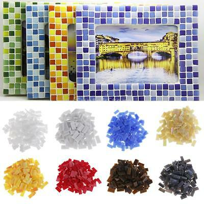 150pcs Colorful Rectangle Glass Mosaic Tiles Vitreous for Art Craft 10x20mm
