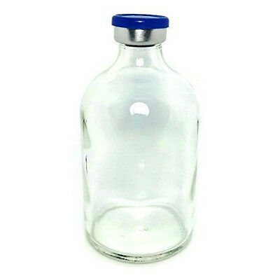 100mL Sterile Clear Glass Vial Qty: 5 - FREE SHIPPING