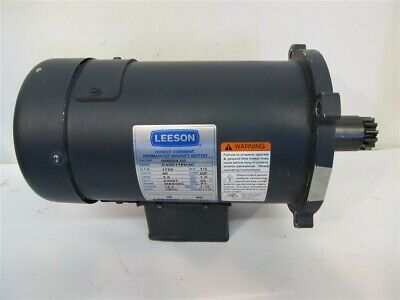 Leeson 098004.00, 1/3 hp 90 Volt DC Motor General Purpose - New - Pulled