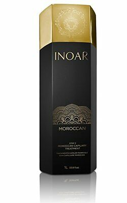 Inoar Moroccan Brazilian Keratin Treatment Blowout 1 Liter Treatment Only