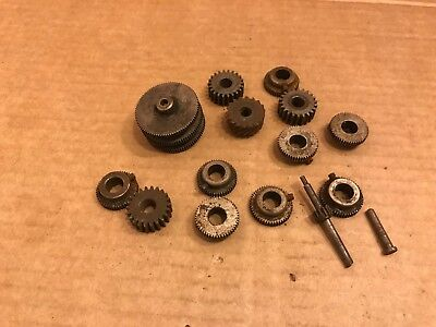 Selection of Vintage Clock Parts, Gear Wheels / Cogs