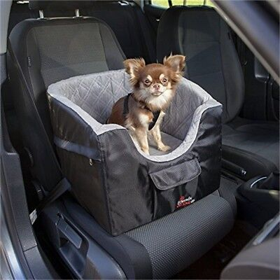 Trixie Car Seat Dimensions: 41 × 39 × 42cm 13176 Color: Black/grey - Dogs Tour