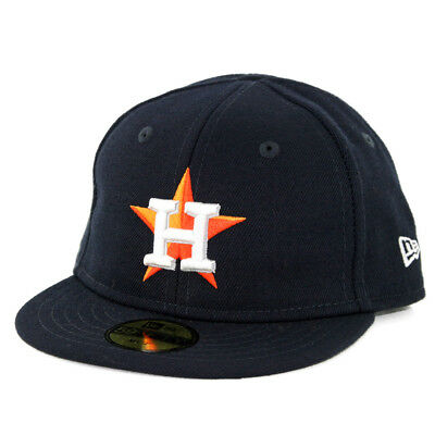 New Era 5950 My First Houston Astros GAME Fitted Hat (Dark Navy) MLB Infant Cap