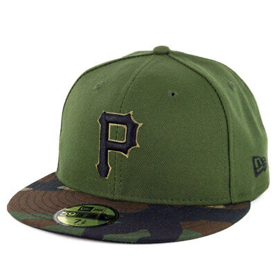 New Era 59Fifty Pittsburgh Pirates 2018 ALT 3 Fitted Hat (Green) MLB Cap