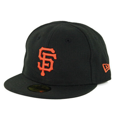 New Era 5950 My First San Francisco Giants GAME Fitted Hat (Black) Infant Cap