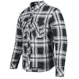 Speed & Strength Rust and Redemption Mens Armored Long Sleeve Shirt Black/Gray