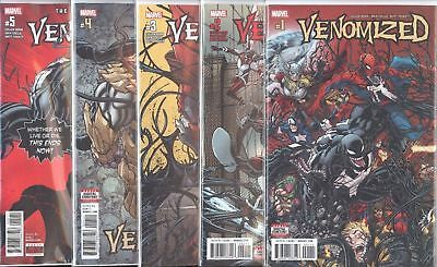 Venomized #1 2 3 4 5 Marvel comic 1st Print 2018 NM