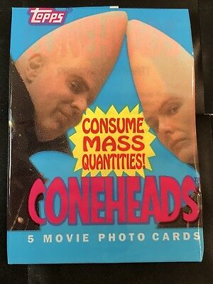 (2)Coneheads (Movie) Trading Card Packs