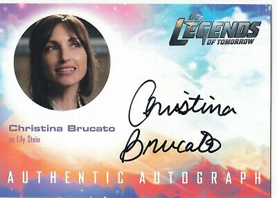 2018 Cryptozoic DC Legends of Tomorrow Auto Christina Brucato as Lily Stein