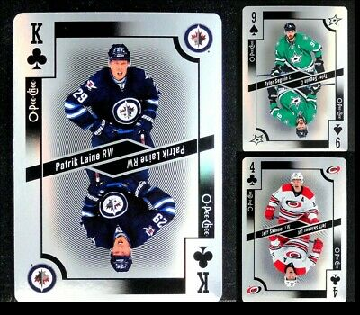2017-18 OPC Playing Cards FOIL **** PICK YOUR CARD **** From The Parellel SET