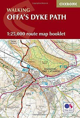 Offas Dyke Map Booklet: 1:25,000 OS Route Mapping (Cicerone Guide) by  | Paperba