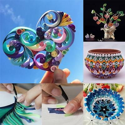 Quality 3Sizes DIY Quilling Paper 100 Stripes Origami Paper DIY Hand Craft BY