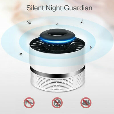 NEW Electronic Anti-mosquito Photocatalyst Mosquito Killer Insect Lamp UV Mute