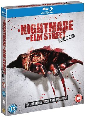 A Nightmare On Elm Street: 1 2 3 4 5 6 7 Complete Box Set Collection Blu ray NEW