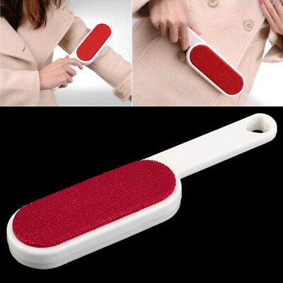 1pc Clothes Dusting Static Brush Two-sided Hair Remover Tearing Cleaning Tool GT