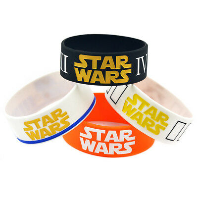 Star Wars Hobbies Mix Storm-trooper Mask, Rebel Alliance Silicone Wristband