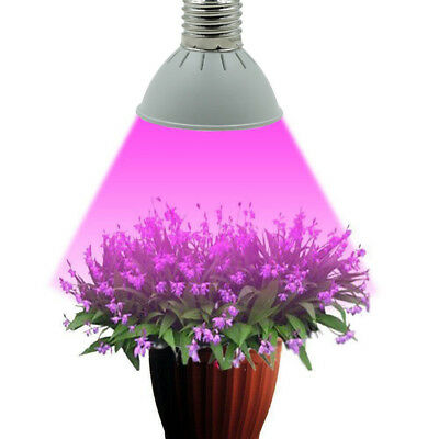 E14 3/4/5W LED Grow Light Veg Flower Hydroponic Plant Full Spectrum Lamp