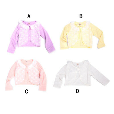 Baby Cardigan Sweaters Cotton Polyester Thin Long Sleeve Kids Girl Cardigan DSUK