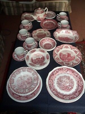 COLLECTION OF crockery: Mixed Lot of 34: Johnson Bros, Adams, J&G ...