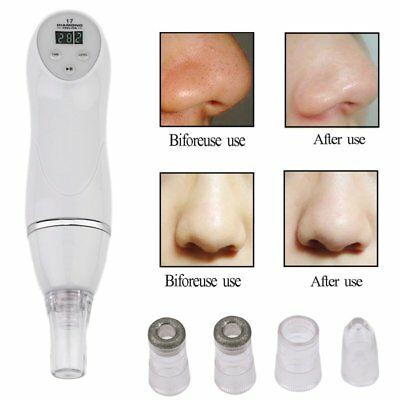 Comedo Microdermabrasion Vacuum Suction Pore Blackhead Remover Cleaner Machine D