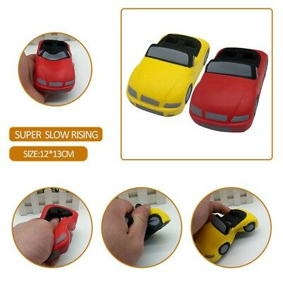Stress Reducer Slow Rising Car Model Cartoon Vehicle Squishy Kids Boy Bag Filler
