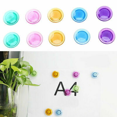 10 X Fridge Magnets Button Whiteboard Memo Message Note Home Decoration Colorful