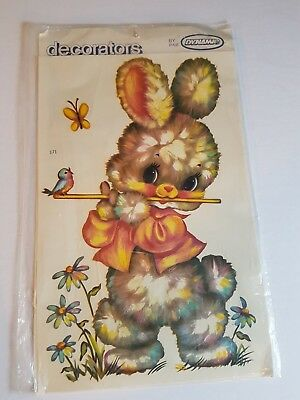 Vintage Decorators by Dynamic Water Applied Application Bunny 12.5 inches