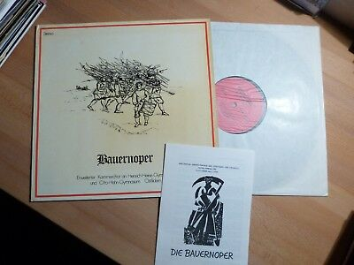"12"" LP - Bauernoper - Yaak Karsunke - Peter Janssens - Private + Heft"