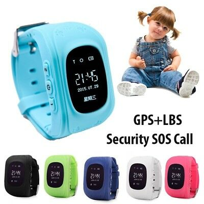 Smart Watch GPS SOS Activity Tracker Phone Watch Anti-Lost For Child Kids UK