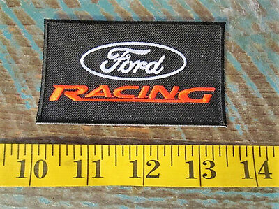 Ford Racing Patch Mustang Gt40 Gt Gt350 Gt500 Mach 1 Shelby Nascar Nhra Imsa