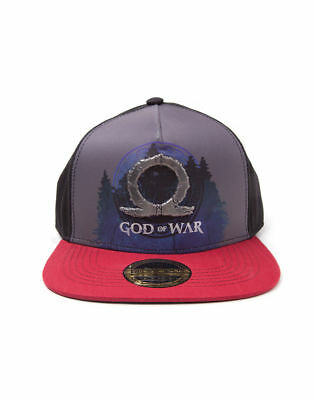 9d73e619065 Official God of War Metal Symbol Sublimation Print Snapback Cap - New    Sealed