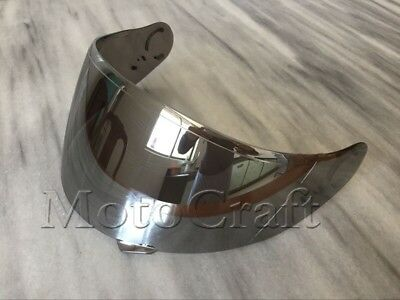 Silver Helmet Visor for Shoei GT-Air Neotec CNS-1 CNS1 TC- 5