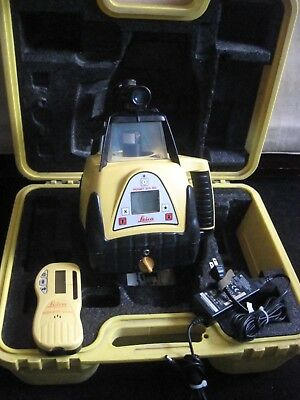 Leica Brand Single Slope Rotary Laser Model Rugby 300 SG