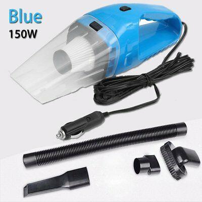 Portable 150W Car Vacuum Cleaner Wet&Dry w/3.5M Cable 12V Handheld Cleaning Tool