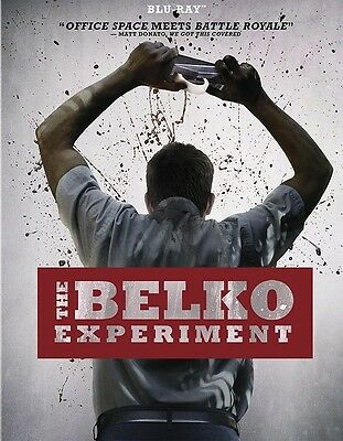 The Belko Experiment (Blu-ray Disc, 2017, Canadian) LN with Slipcover Ships Fast