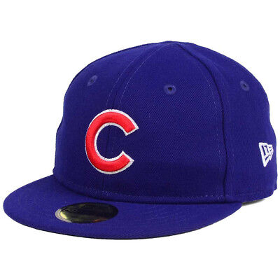 New Era 5950 My First Chicago Cubs 2017 GAME Fitted Hat (Royal Blue) Infant Cap